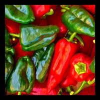 PEPPERS-36X36
